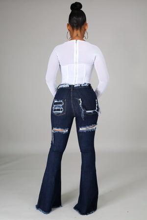 Meeting The Standard Jeans