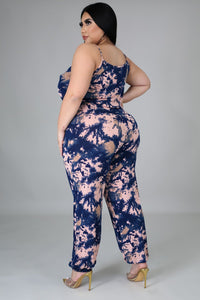 2pc Finally Found It Jumpsuit Set