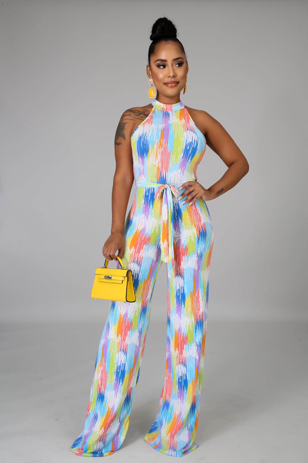 Color Your Life Jumpsuit