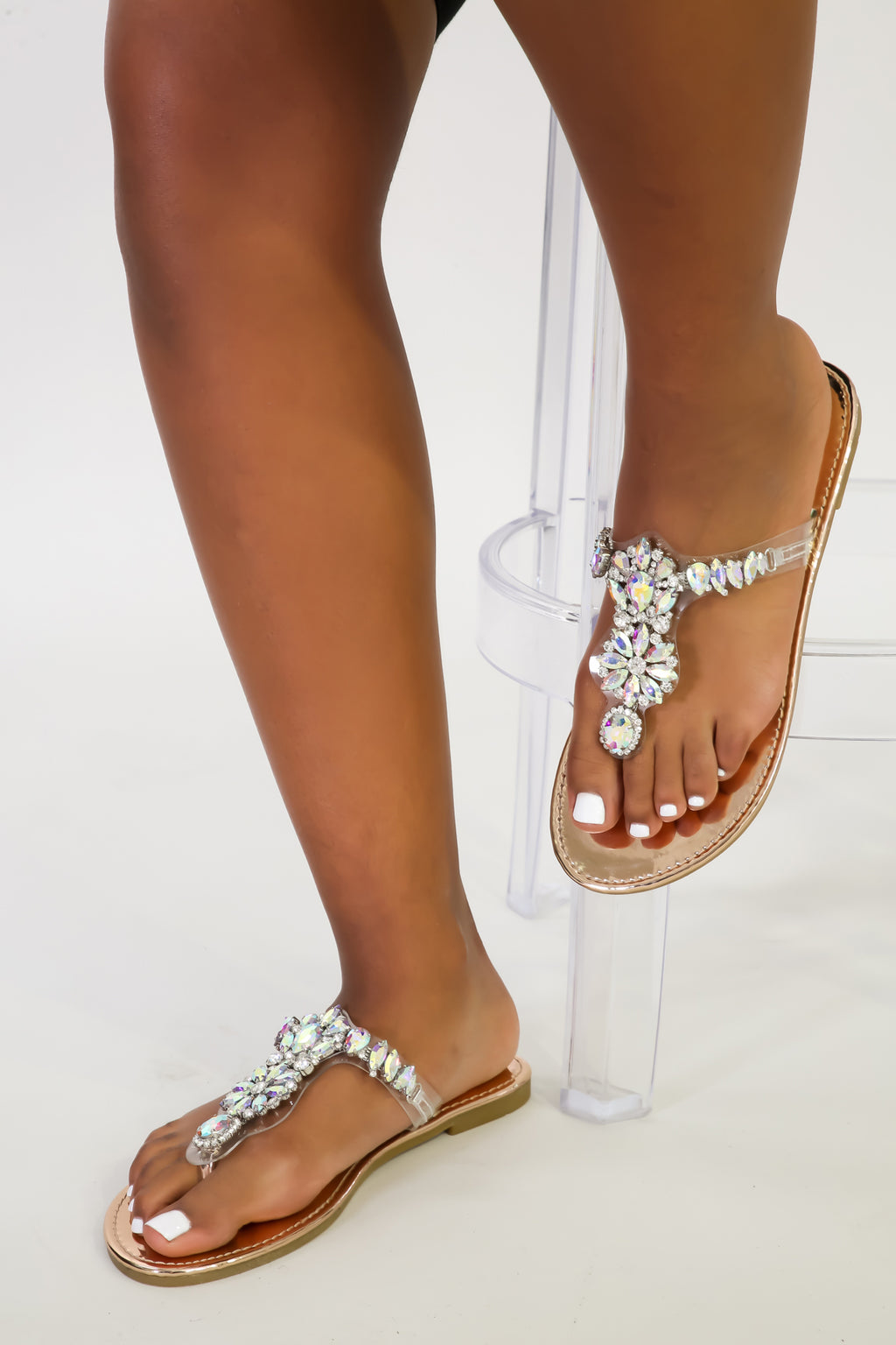 Gems On Gems Sandal | GitiOnline