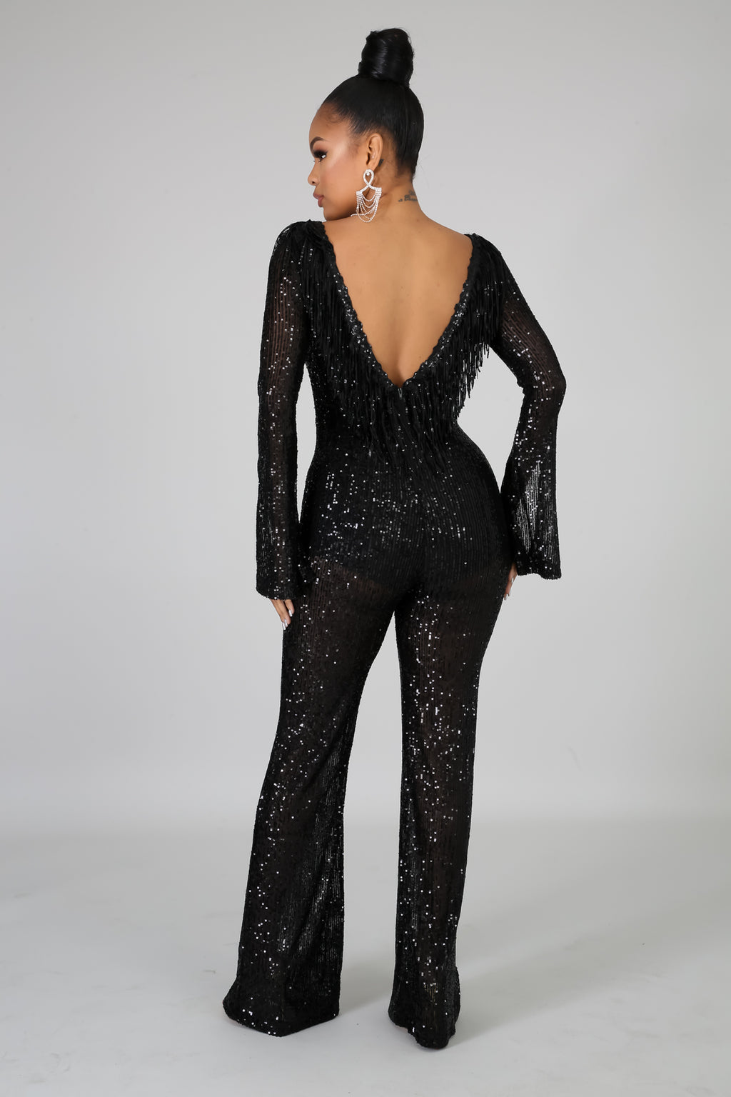 Dropping Hints Jumpsuit | GitiOnline