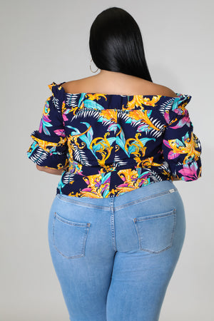 See Through Skirt Set | GitiOnline