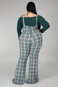 Plaid You Jumpsuit Set