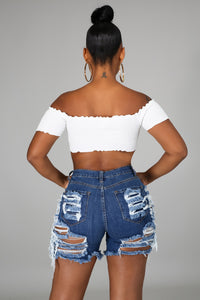 Janelle Denim Shorts