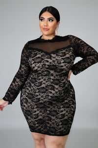 Lace Me Up Dress | GitiOnline