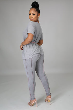 Caught In Comfort Legging Set