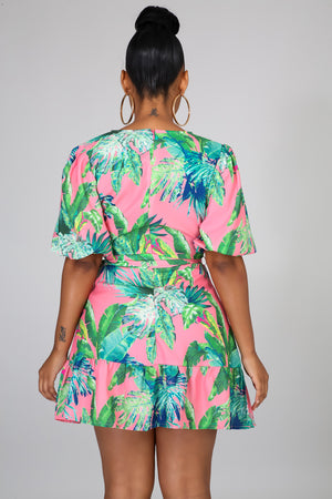Tropical Oasis Dress