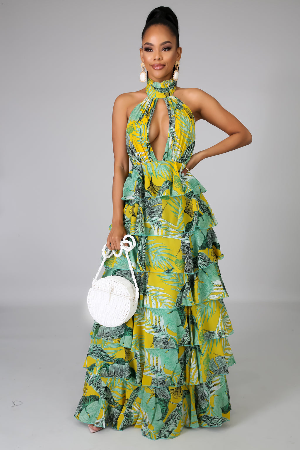 Palms Maxi Dress | GitiOnline