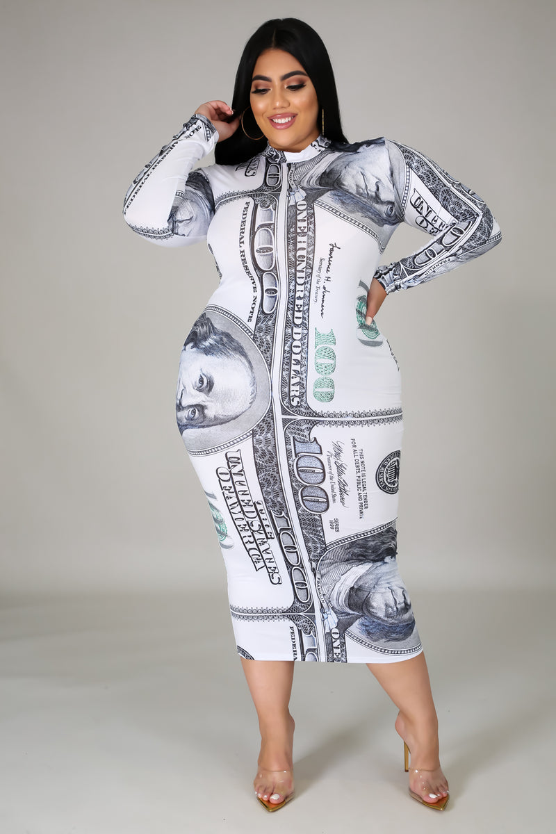 All About The Benjamins Dress