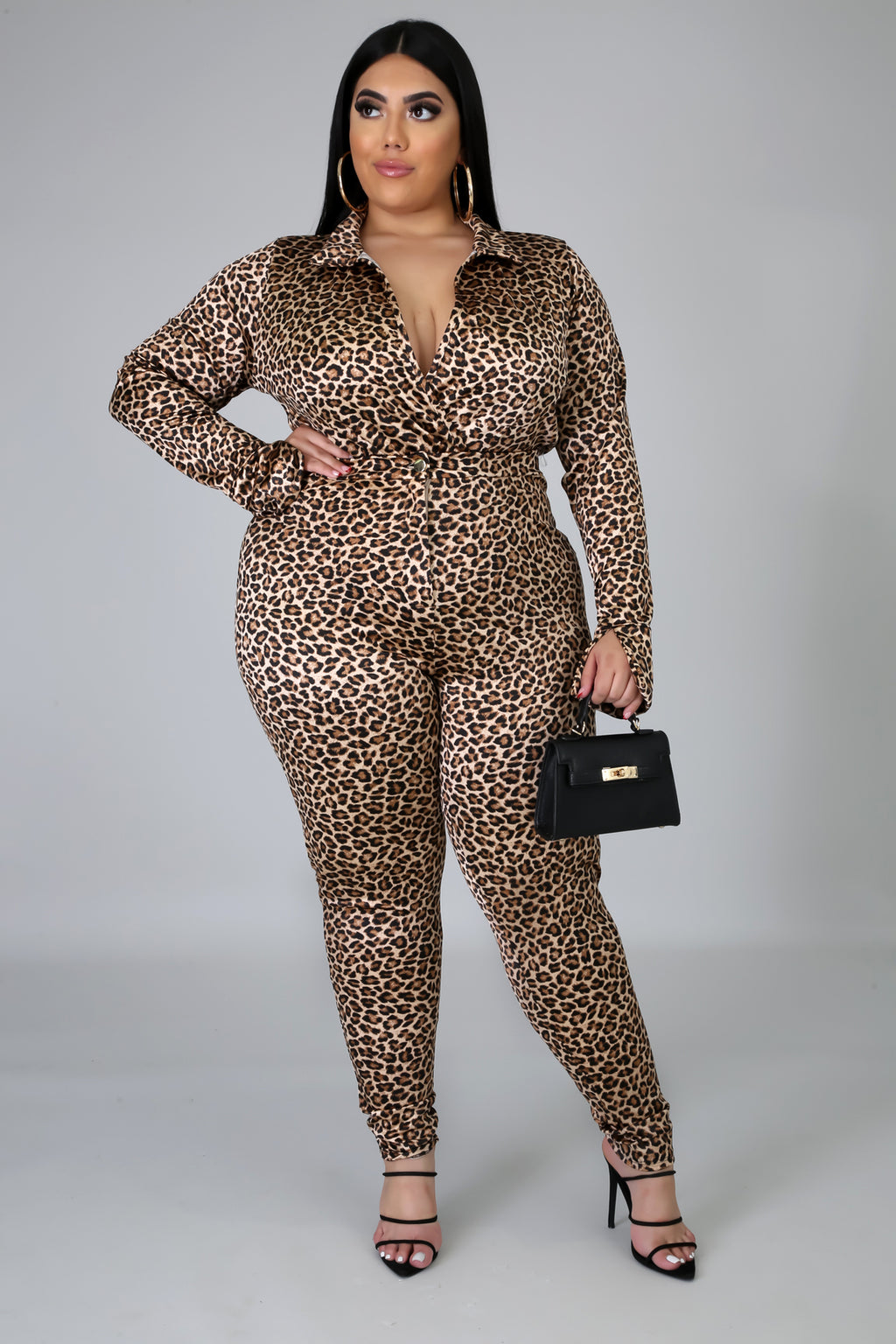 Cheetah Chain Bodysuit