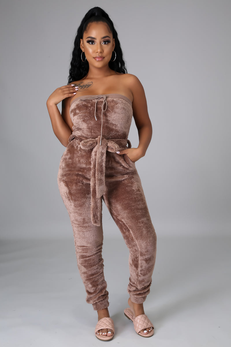 So Fluffy Jumpsuit
