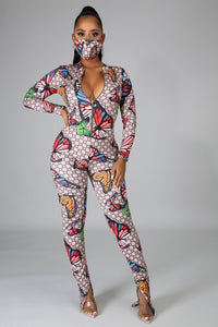 Something New Jumpsuit Set