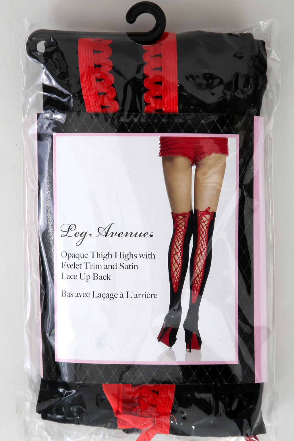 Satin Lace Up Leg Hose | GitiOnline
