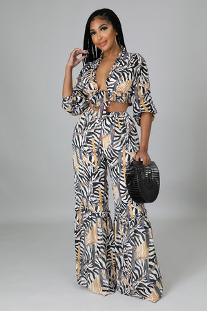 Tie Dye Stripe Midi Dress