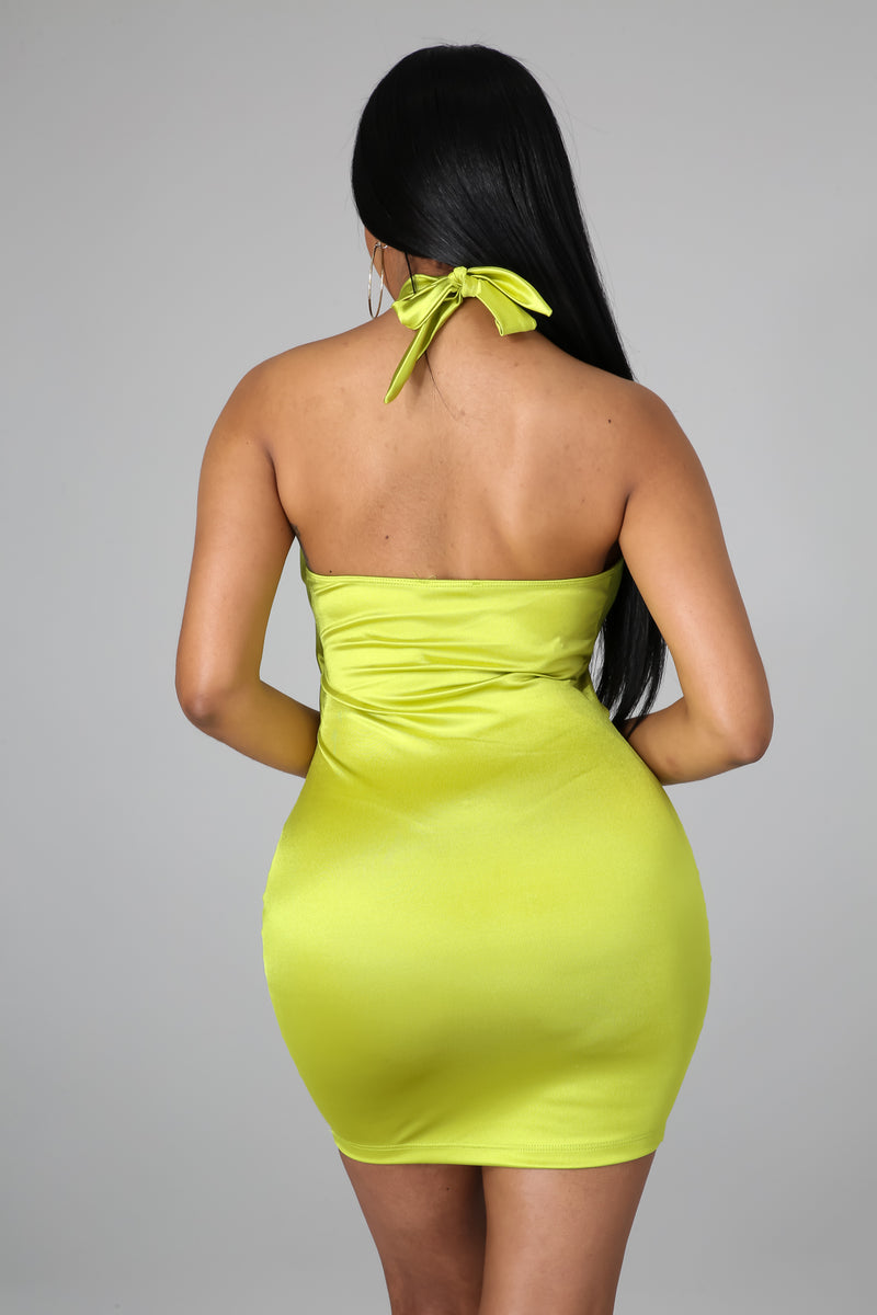 Buttercup Lime Dress