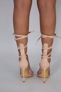 All Tied Up Heels | GitiOnline