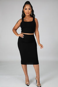Back To Basics Skirt Set