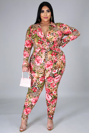 Jungle Flower Pant Set