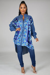 Must Be Nice tunic top