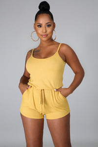 Usually Here Romper Set