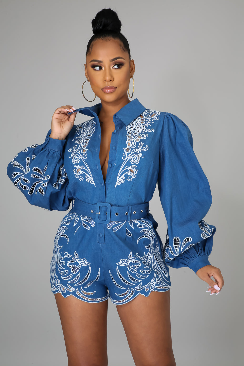Brunch Queen Romper