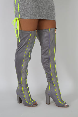 NEON VIPE HIGH BOOTS | GitiOnline