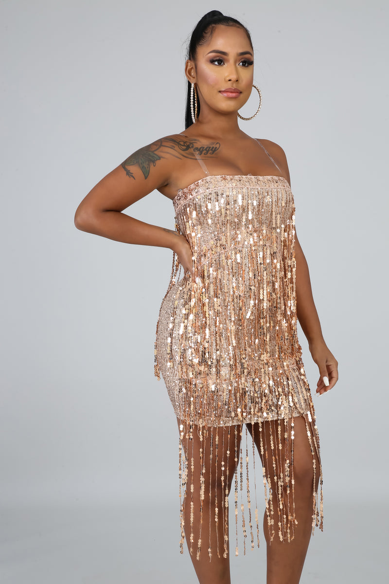 Dance With Me Sequins Dress | GitiOnline