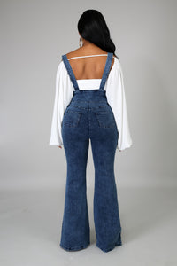 Denim Bell Overalls | GitiOnline