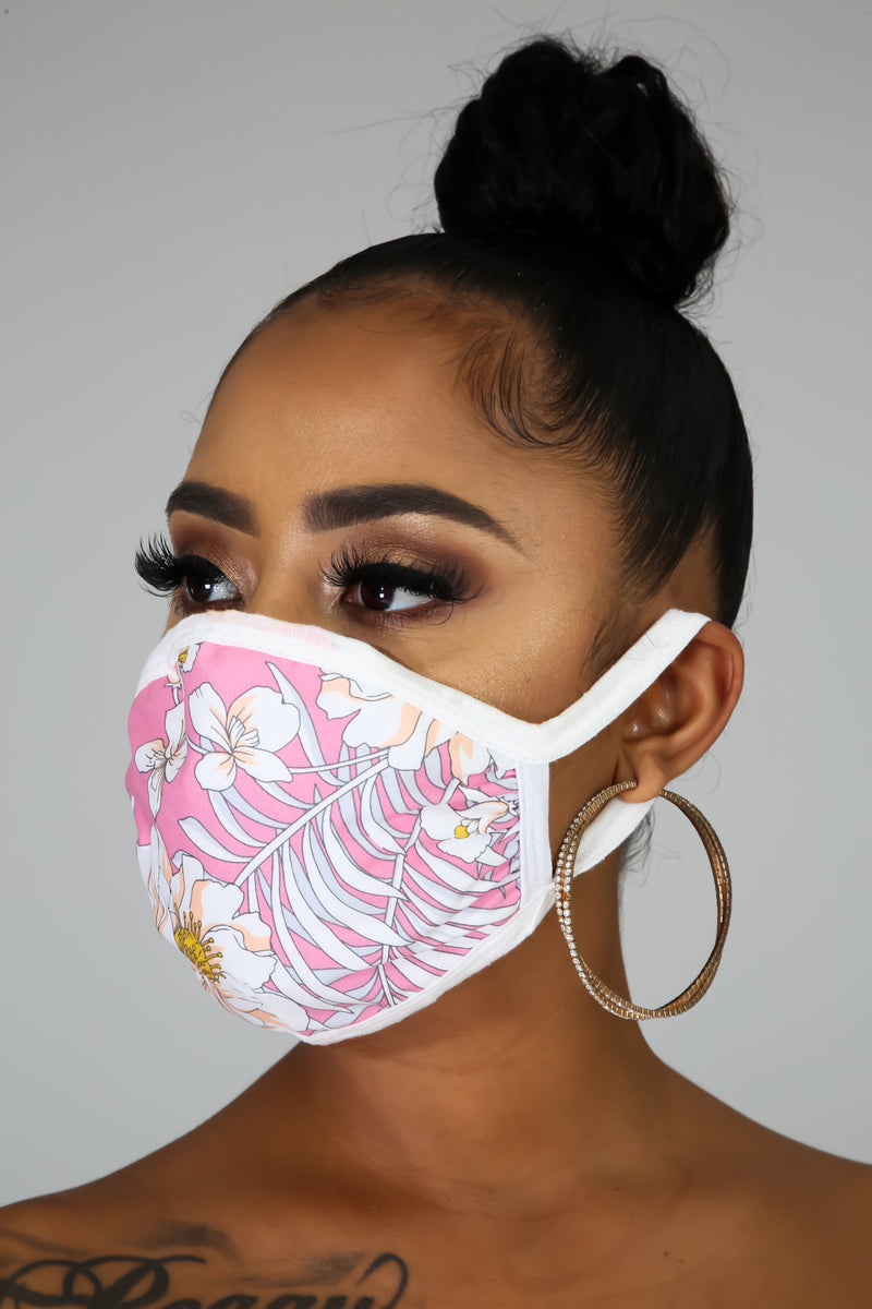 Spring Vibes Face Mask