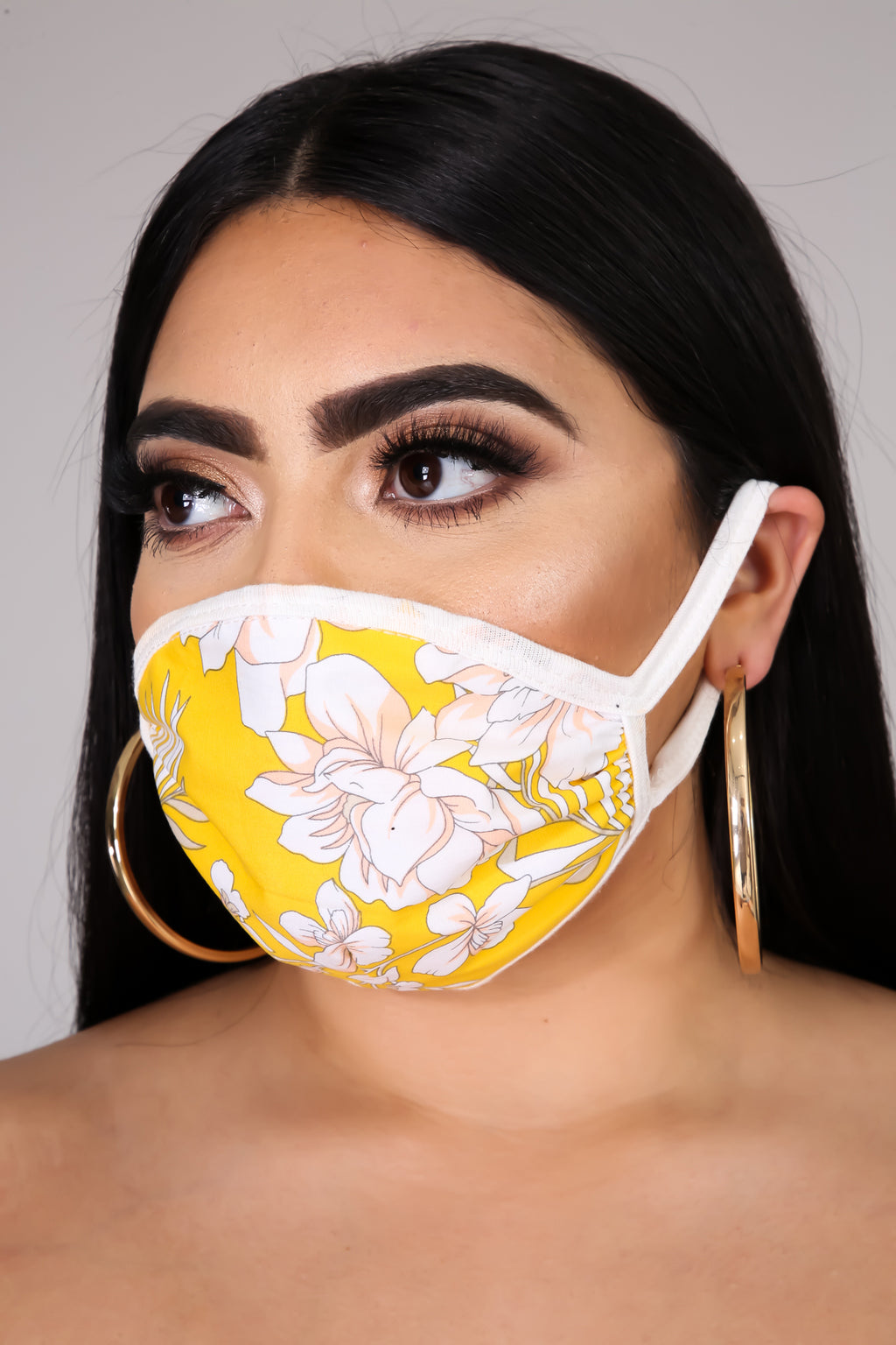 Floral Babe Face Mask