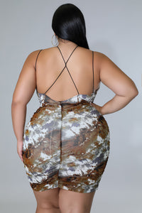 Twist Mermaid Dress | GitiOnline