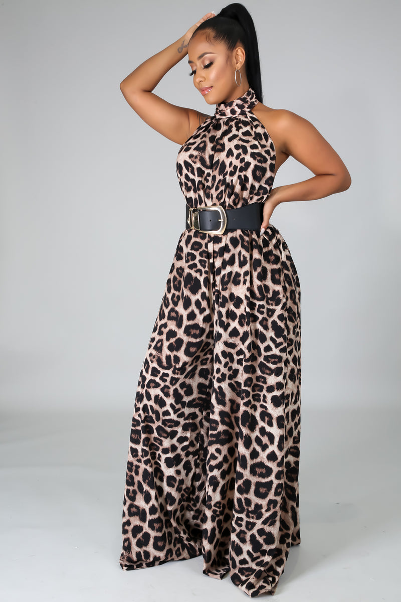 Going Wild Tonight Jumpsuit