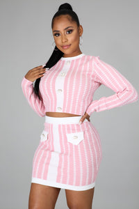 Secure The Bag Skirt Set
