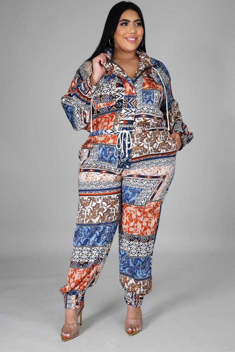 Perfect Print Jumpsuit