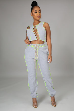 Chained To You Pant Set