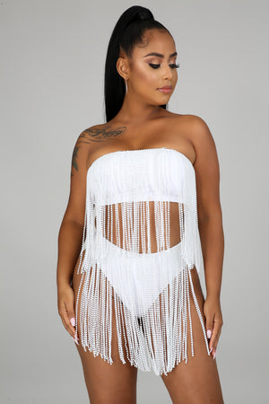 Feeling Fringe Swim Set