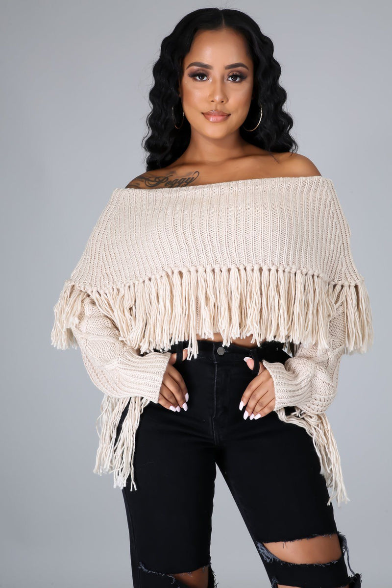 Ozzie Sweater Top