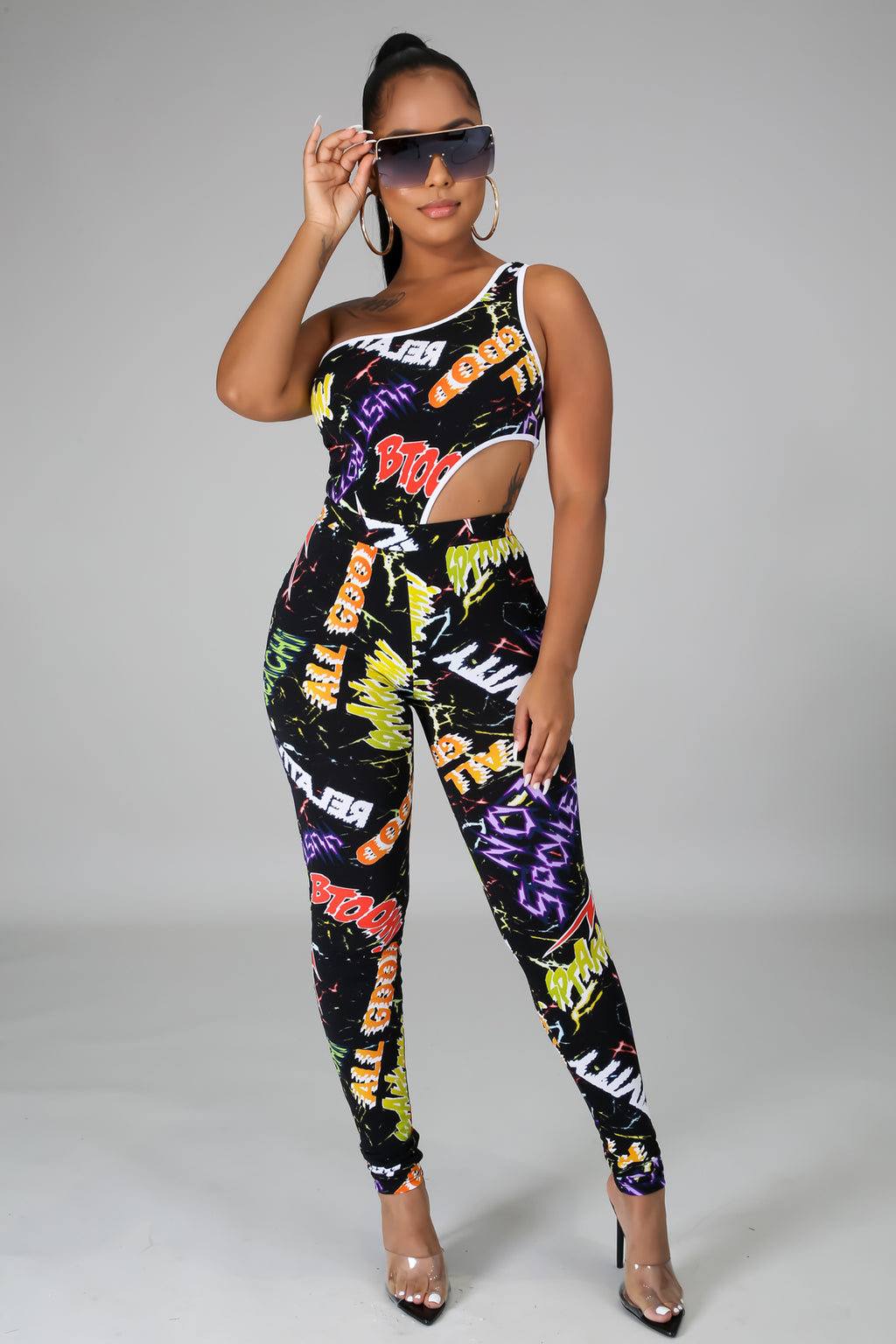 All Cool Bodysuit Pant Set