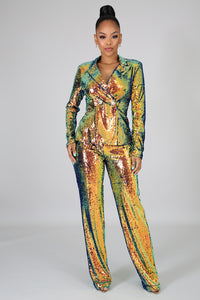 Don't Call Me Baby Sequins Set | GitiOnline