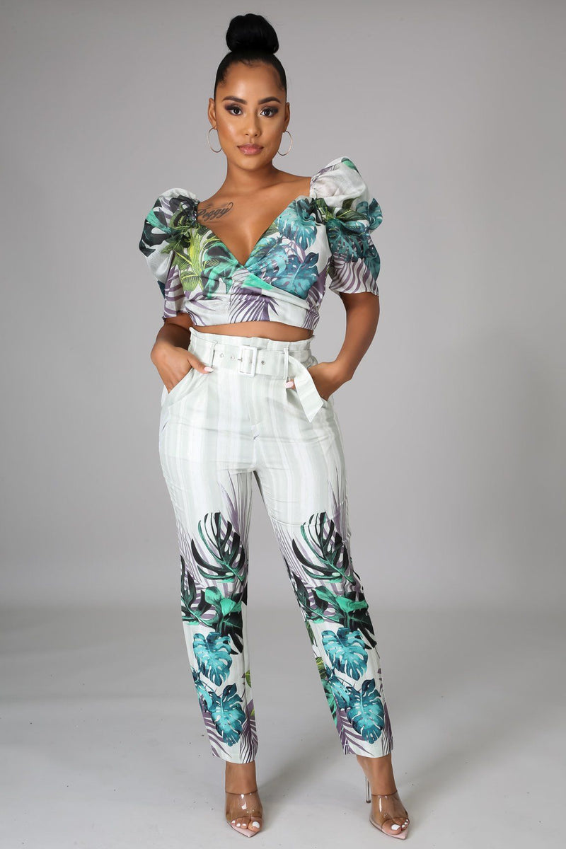 Say That You Love Me Pant Set