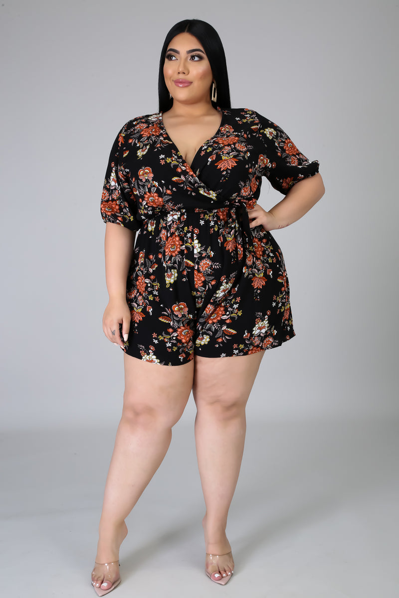 Stuck On You Romper