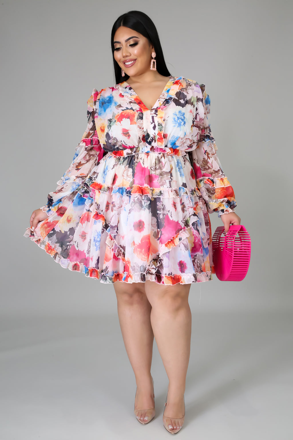 Flare Bloom Dress