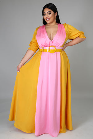 Escaping Love Maxi dress | GitiOnline