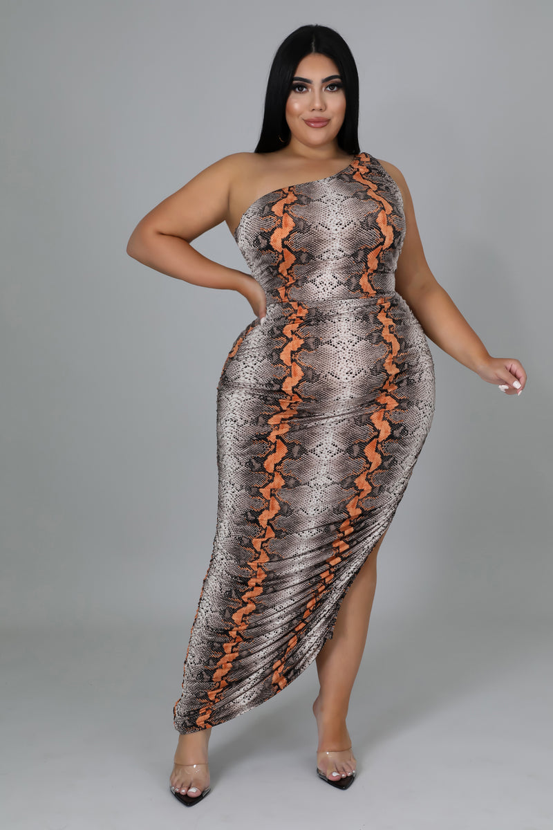 Color Strokes Tube Body-Con Dress