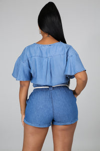 Easy Choice Denim Short