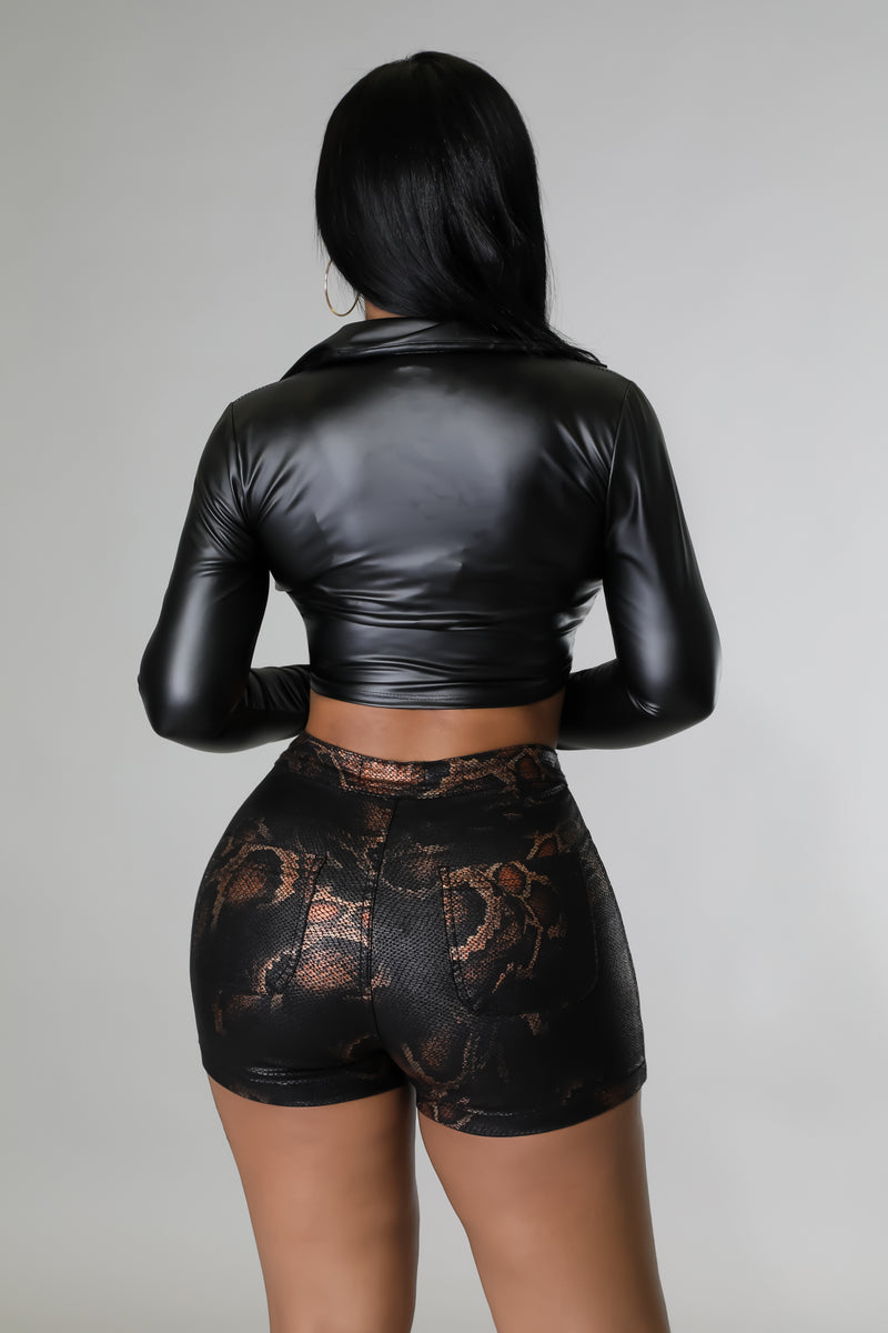 Bad Girl Paper Bag Shorts