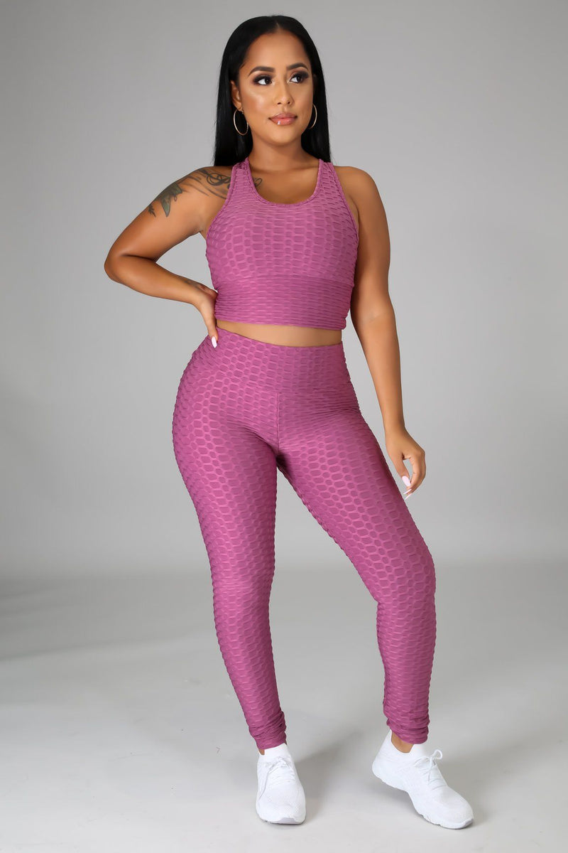 No Show Legging Set