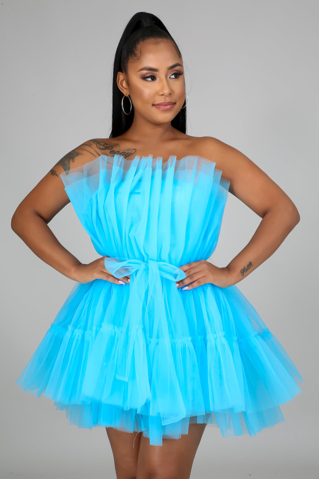 Tulle Tube Dress