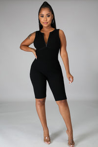 Out And About Ribbed Romper