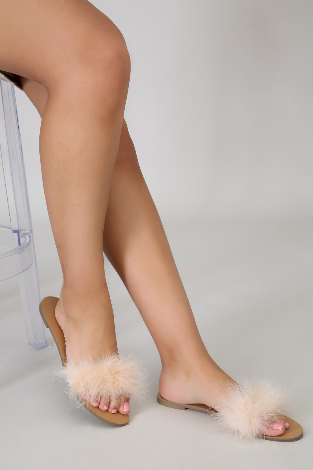 Fluff Me Up Sandal | GitiOnline